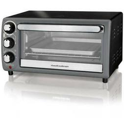 Charcoal Toaster Oven 4 Slice Capacity W/ Tray Home Kitchen