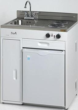 MAS CK3016 30 in. Complete Compact Kitchen - 2.2 CF Refriger