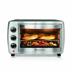 Electric Convection Oven 6-Slice Stainless Steel Toaster Cou