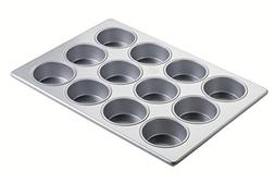 Focus Foodservice Commercial Bakeware Jumbo Muffin Pan with