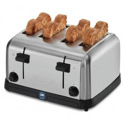 Waring Commercial WCT708 120V Medium-Duty 4-Slot Toaster