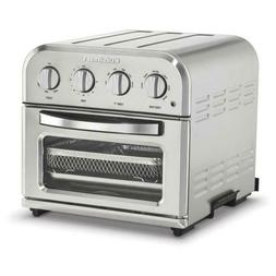 compact 1 2 qt silver airfryer toaster