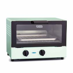 Dash Compact Toaster Oven Cooker with Baking Tray,Rack+Auto