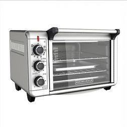 6-Slice Convection Countertop Toaster Oven Silver TO3000G BL