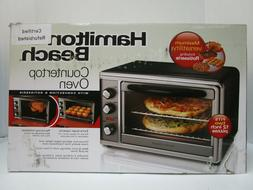 Convection Oven Rotisserie Hamilton Beach Countertop Pizza T