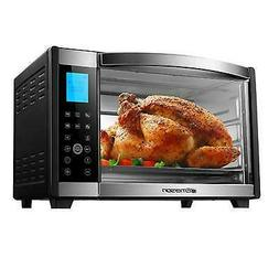 Emerson Convection & Rotisserie Countertop Toaster Oven, 6-S