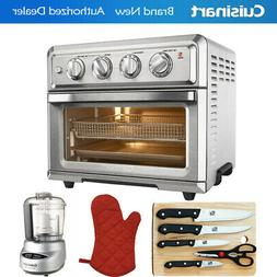 Cuisinart Convection Toaster Oven Air Fryer Silver + Ultimat