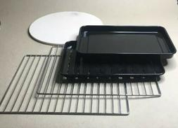 Cuisinart Convection Toaster Oven Pans Racks Pizza Plate Acc
