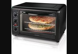 Countertop 2 Pizza Oven Convection Toaster Rotisserie Bake B