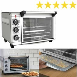 Countertop CONVECTION OVEN Pizza Toaster Stainless Steel Bak