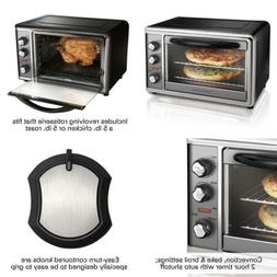 Countertop Oven with Convection & Rotisserie Large Stainless