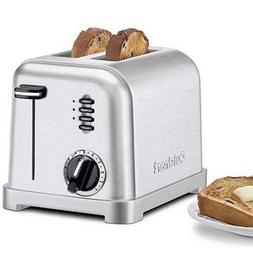 Cuisinart CPT-160 Metal Classic 2-Slice Toaster, Brushed Sta