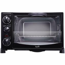 Rosewill RHTO-13001 6 Slice Black Toaster Oven Broiler with