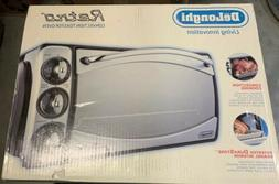 DeLonghi Retro Convection Toaster Oven 4 Grille Pan AR690