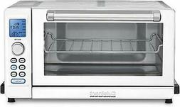 Cuisinart Deluxe Convection Toaster Oven Broiler, White and