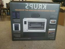 Krups Deluxe Convection Toaster Oven Stainless Steel Model #