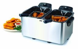 Elite Dual Basket Stainless Steel Deep Fryer