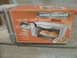 Proctor Silex Durable Toaster Oven Broiler compact 31112Y NE