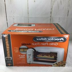Proctor Silex Durable Toaster Oven Broiler Model 31116R Kitc