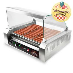 Olde Midway Electric 30 Hot Dog 11 Roller Grill Cooker Machi