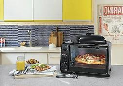 Electric Oven Grill Convection Countertop Toaster Cooking Ki