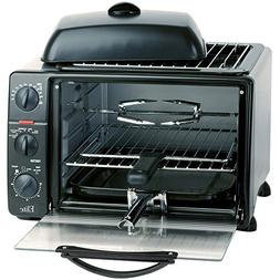 23 Liter Electric Toaster Oven w/ Grill & Steamer, Rotisseri