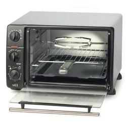 Elite Cuisine 23-Liter Toaster Oven with Rotisserie and Auto