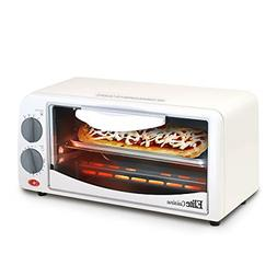 Elite Cuisine Countertop Toaster Mini Oven Large White Kitch