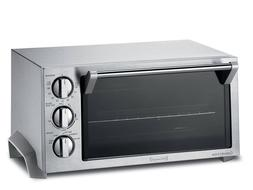 DeLonghi EO1270 6-Slice Convection Toaster Oven, Stainless S
