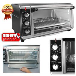Extra Wide Convection Countertop Toaster Oven 8-Slice Bake P