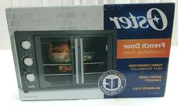 Oster French Door Countertop Convection Toaster Oven, Metall