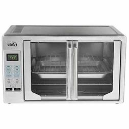 French Door Oster Digital Countertop Toaster Oven, Stainless