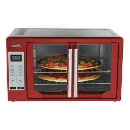 Oster French Door Toaster Convection Oven Extra Large Red Di