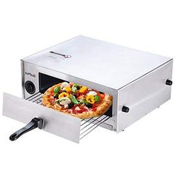 Goplus Pizza Oven, Stainless Steel Pizza Maker Machine, Pizz