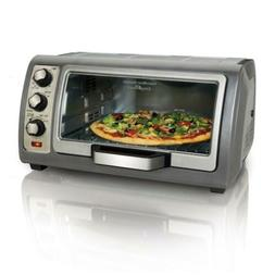 Hamilton Beach Easy Reach 6 Slice Toaster Oven with Roll-Top