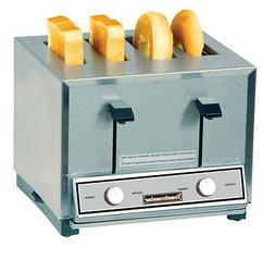 Toastmaster HT409 Four Slot Combo Toaster For Bread & Bagels