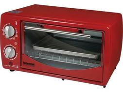 im 257r red 9 liter toaster oven