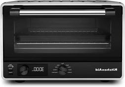 KitchenAid KCO211BM Digital Countertop Toaster Oven, Black M