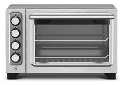 KitchenAid KCO253CU Compact Convection Oven - Silver