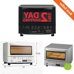 """Kitchen Toaster Oven w/ Double Infrared Heating Removable 9"""""""