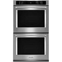 KitchenAid KODE500ESS Double Wall Oven w/ Even Heat True Con