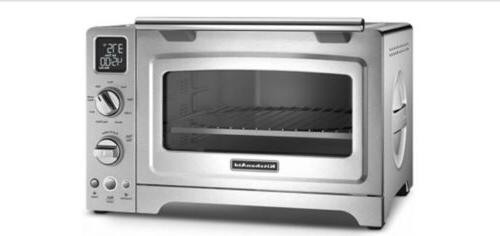 "KitchenAid® 12"" Convection Digital Countertop Oven, Steel"