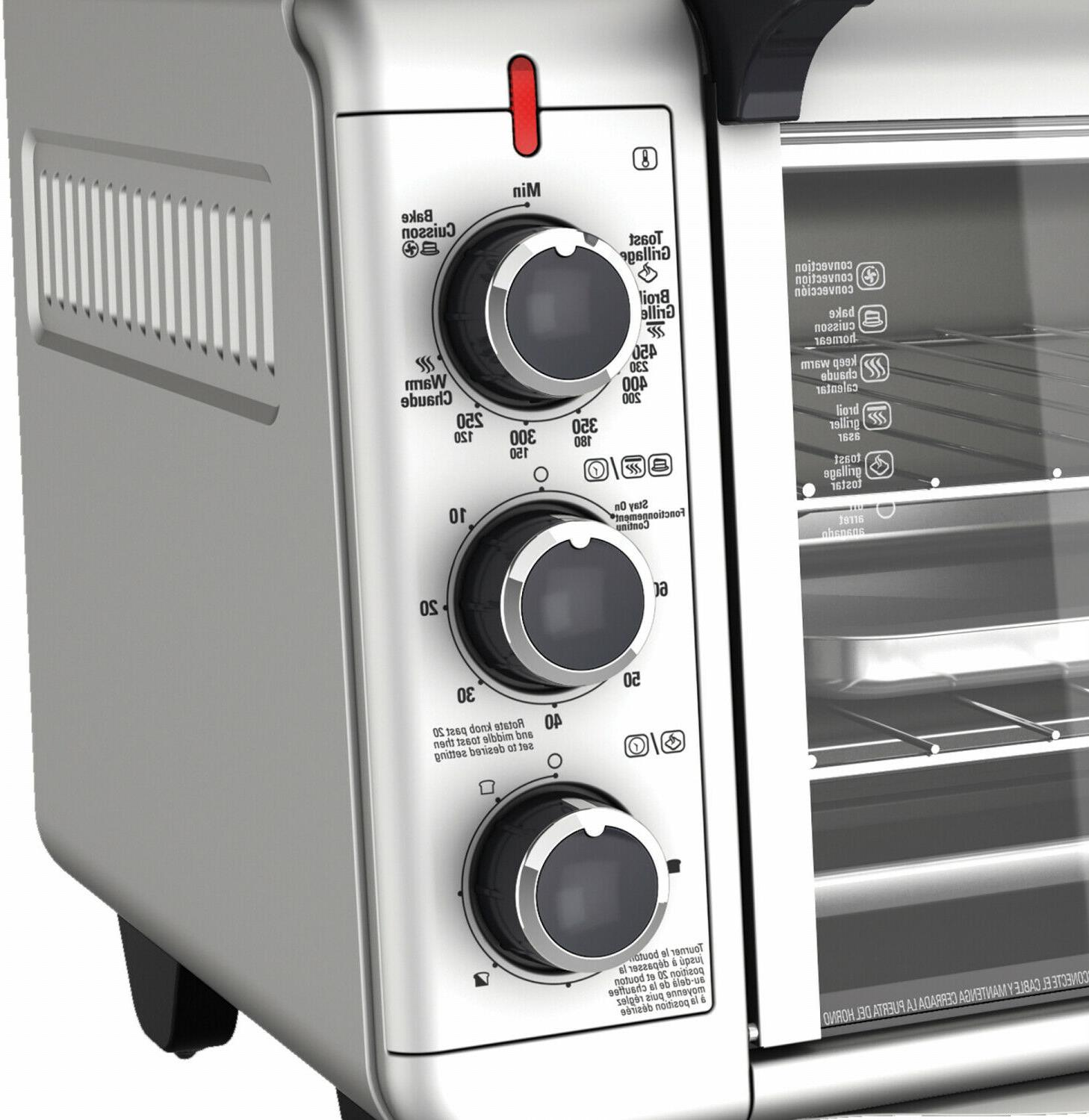 1500W Kitchen Toaster Oven Pizza,