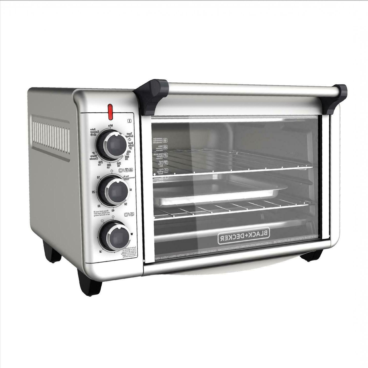 1500W Kitchen Toaster Pizza, BLACK+DECKER