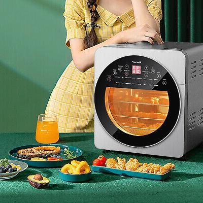 15.5 QT 16-in-1 Air Fryer Oven Toaster Oven Dehydrator Rotis