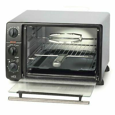 23 liter toaster oven with rotisserie