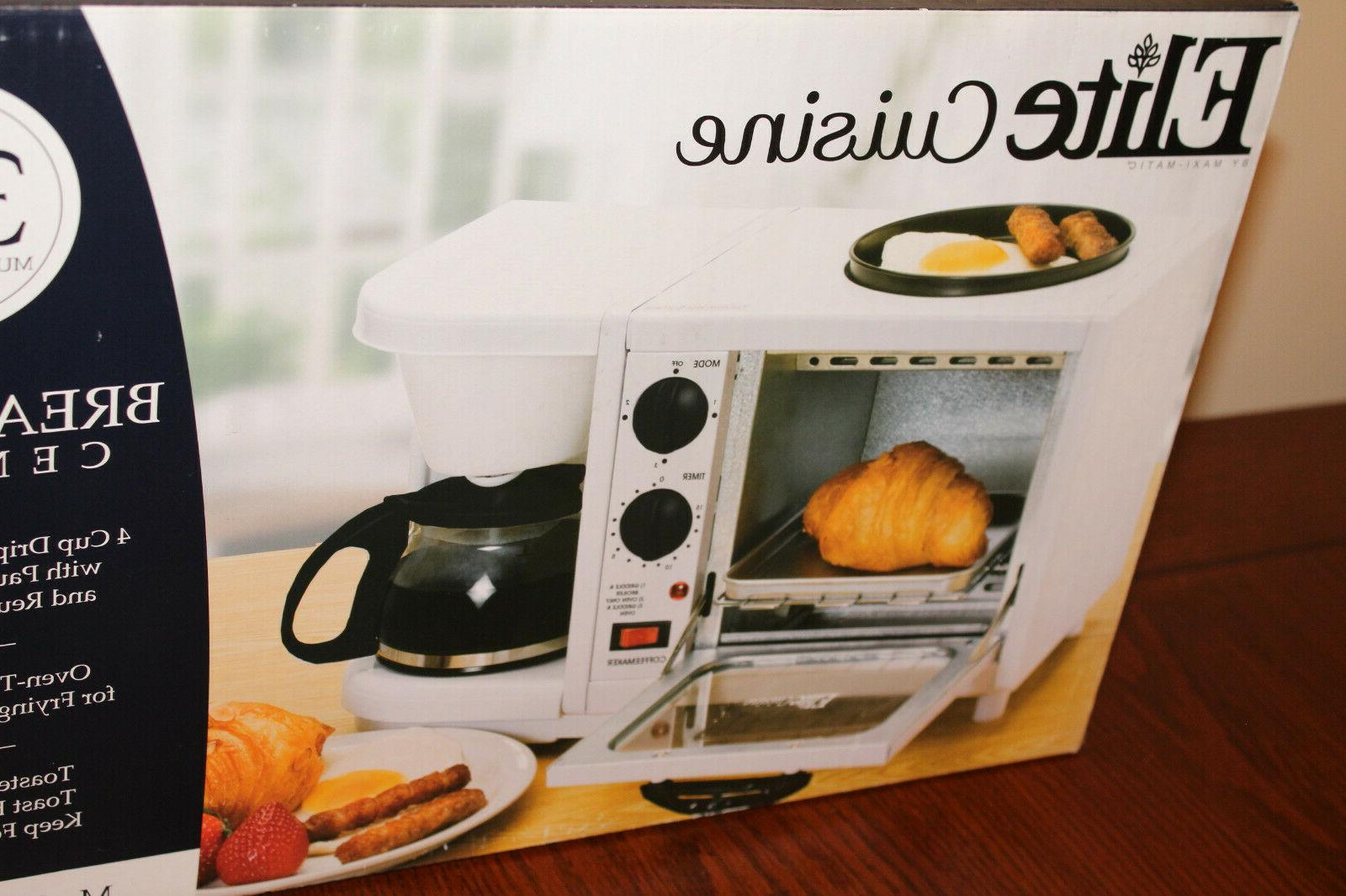 Elite Cuisine 1 Toaster Oven Camping RV NEW