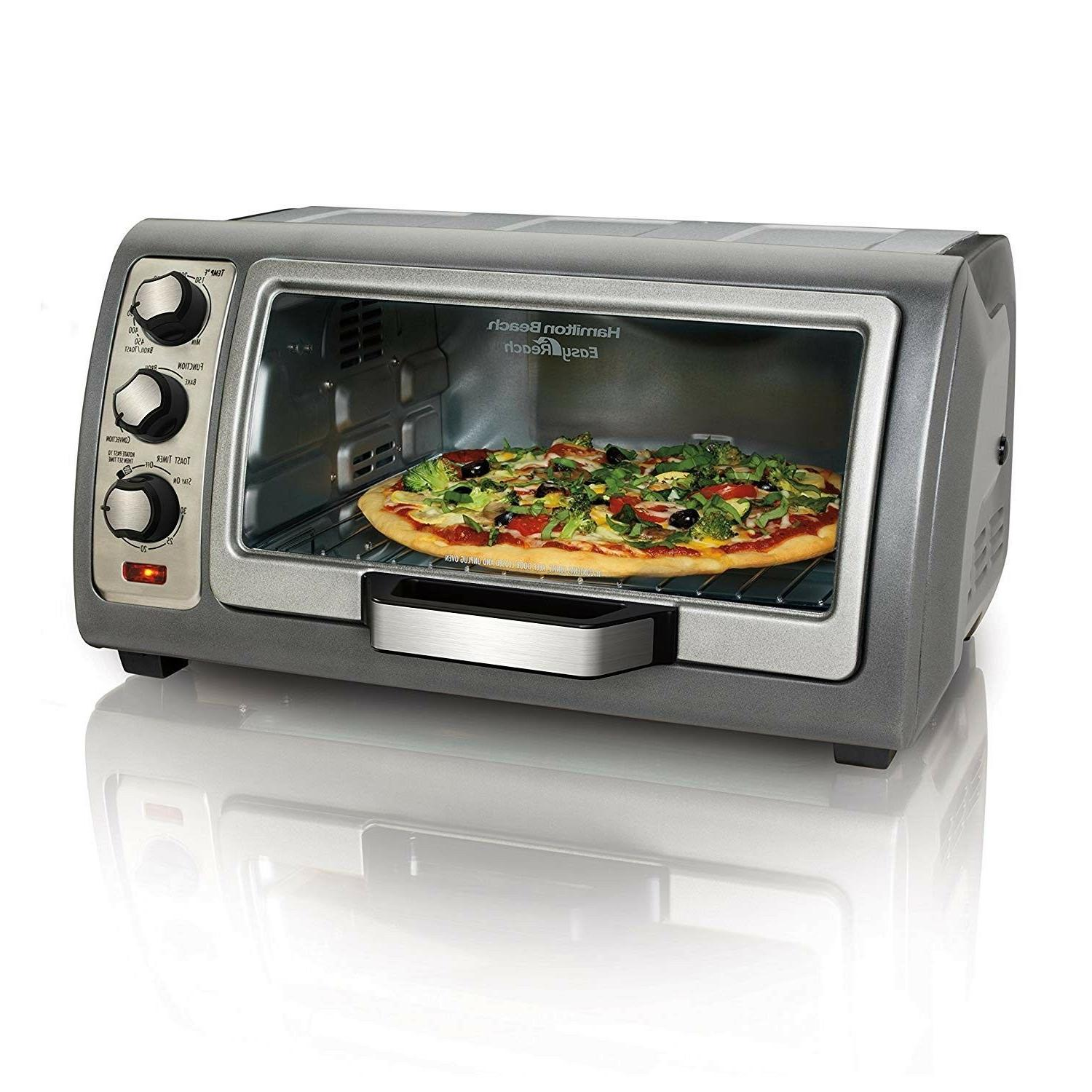 31123d easy reach toaster oven silver