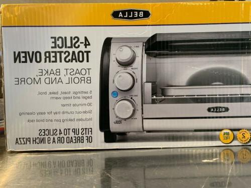 4 slice counter top toaster oven 14326