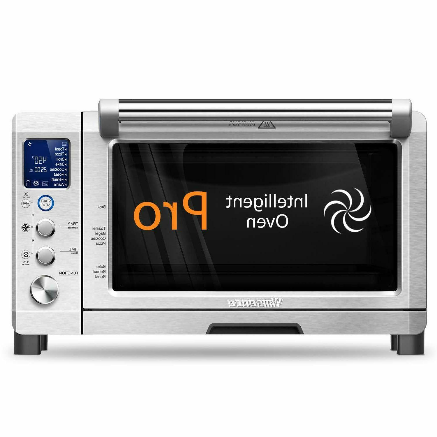 4 slice toaster oven stainless steel broiler